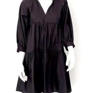 Biancoghiaccio   שמלה פעמון שחורה ביאנקוג'אצ'יו