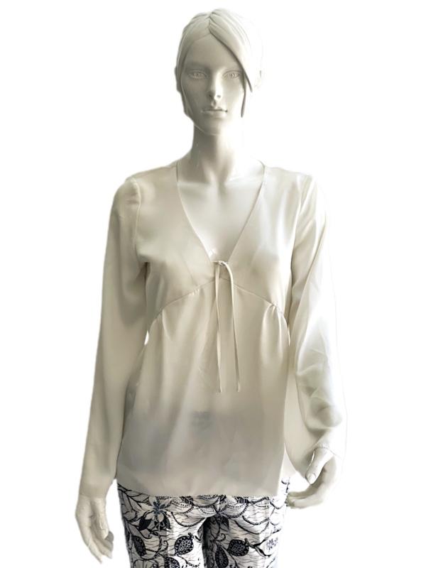 Kensie   חולצת סילק אופנתית קנסי