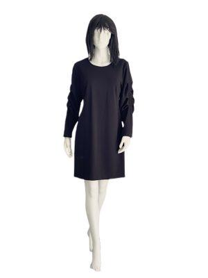 Vince Camuto | שמלה שחורה אלגנטית וינס קמוטו