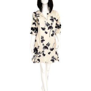 Biancoghiaccio   שמלה אופנתית קריבה ביאנקוג'אצ'יו