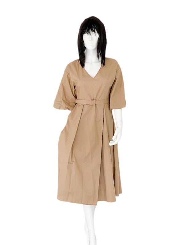 Biancoghiaccio   שמלה שרוול פעמון ביאנקוג'אצ'יו