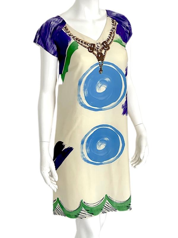 Cavalli Class   שמלה לילק קוואלי קלאס