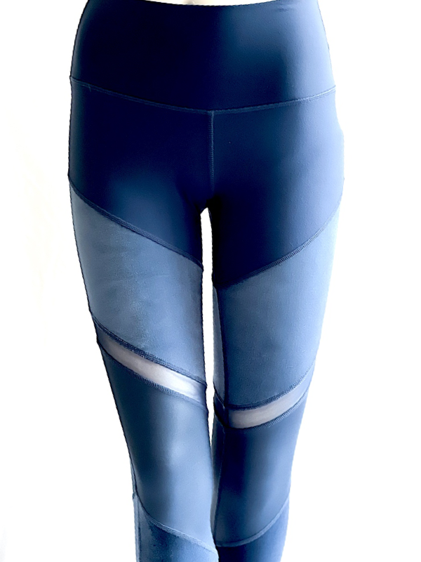 Alo Yoga | טייץ כחול לוקס אלו יוגה