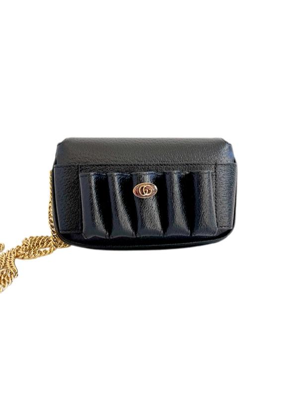 Gucci | תיק צד שחור קטן גוצ'י