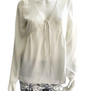 Kensie | חולצת סילק אופנתית קנסי