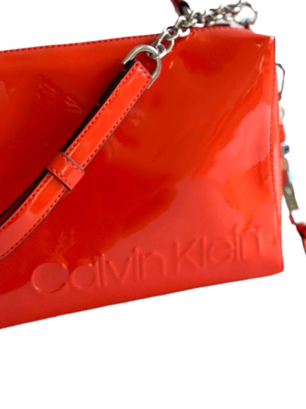 Calvin Klein | תיק צד כתום קלוין קליין