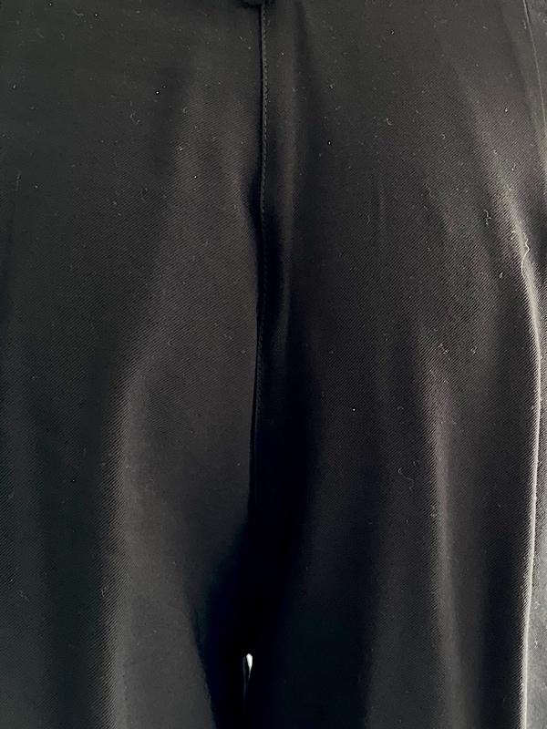 Biancoghiaccio   מכנס צבע שחור ביאנקוג'אצ'יו