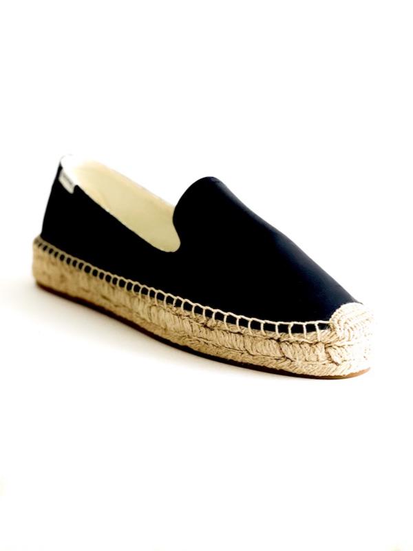 Soludos   נעלי אספדריל בצבע שחור סולודוס