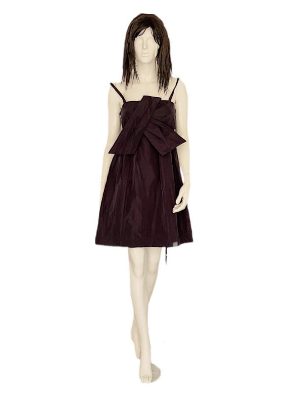 Biancoghiaccio | שמלה פפיון שחורה ביאנקוג'אצ'יו