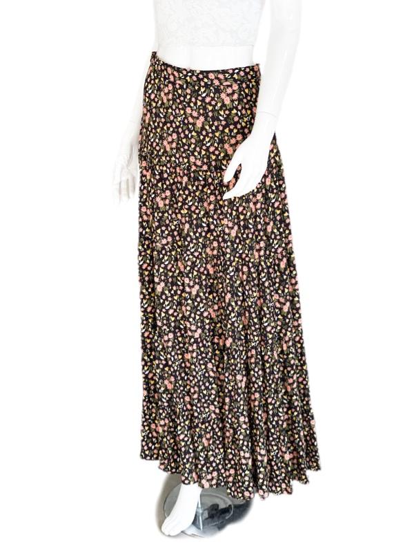 Biancoghiaccio | חצאית ארוכה פרחונית ביאנקוג'אצ'יו
