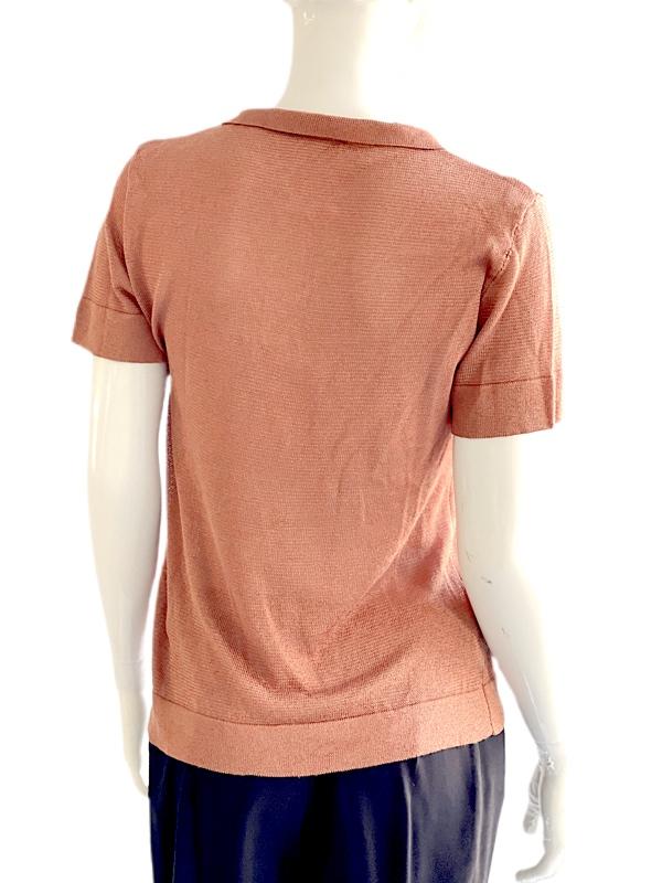 Biancoghiaccio   חולצה ברונזה סרוגה ביאנקוג'אצ'יו