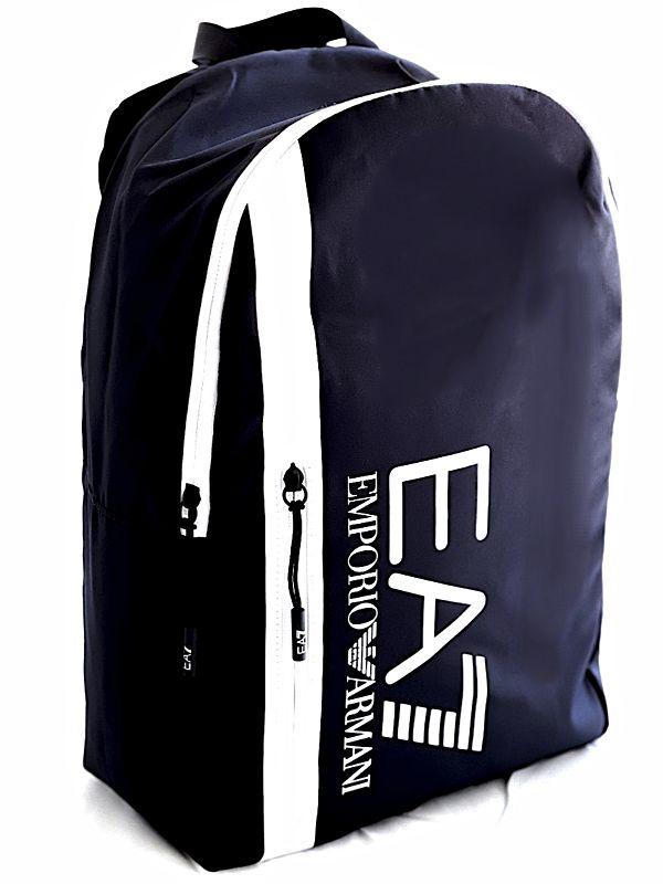 Emporio Armani   תיק גב כחול אימפוריו ארמני