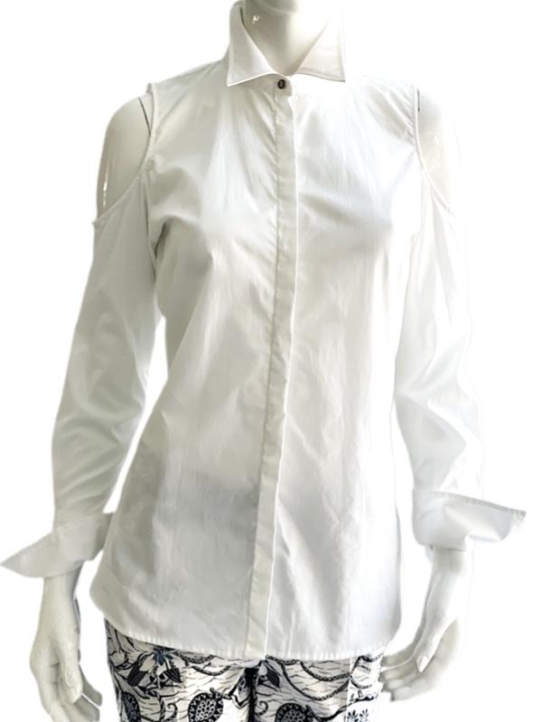 Ralph Lauren | חולצה מכופתרת לבנה ראלף לורן