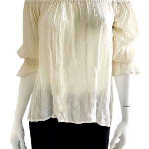 Ralph Lauren | חולצת סטרפלס ראלף לורן