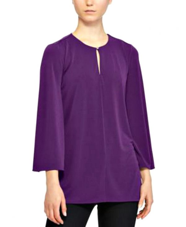 Ralph Lauren | חולצה סגולה רחבה ראלף לורן