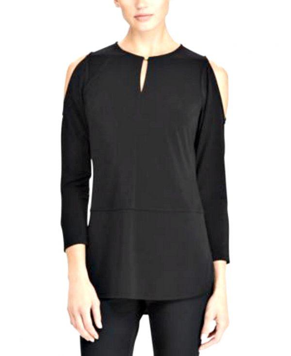 Ralph Lauren | חולצת/טוניקה שחורה ראלף לורן