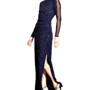 Ralph Lauren | שמלה תחרה מקסי ראלף לורן