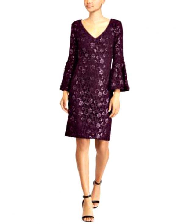 Ralph Lauren   שמלה תחרה אלגנטית ראלף לורן