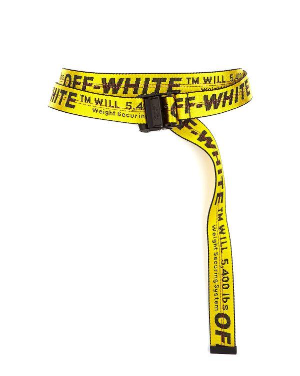 חגורה צהובה אינדסטריאל אוף וויט