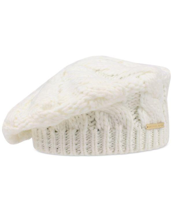 Michael Kors   כובע לבן מיקל קורס