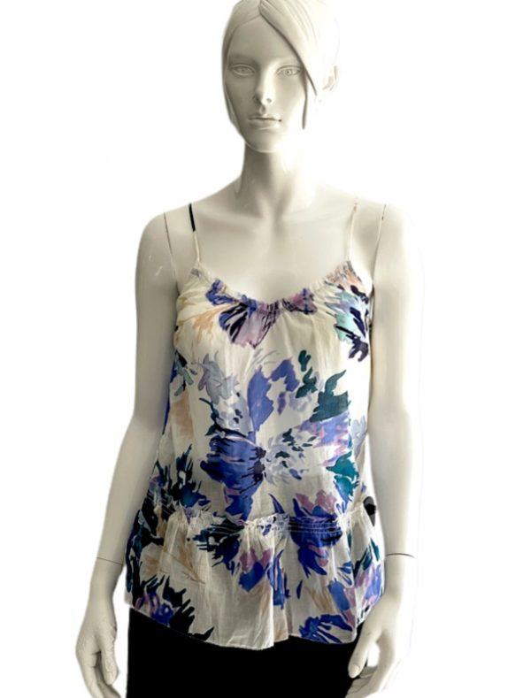 Calvin Klein   חולצה פרחונית פלורל קלוין קליין