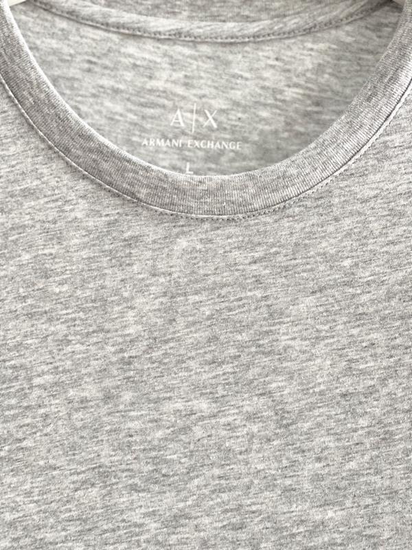 Armani Exchange | חולצה אפורה ארמני אקסצ'יינג
