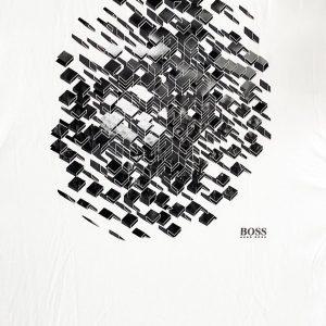 Hugo Boss | חולצת טי שירט לבן הוגו בוס