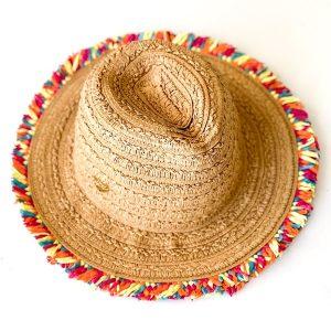 Betsey Johnson | כובע קש מיוחד בטסי ג'ונסון
