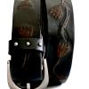 Fossil   חגורת ג׳נס מעוצבת פוסיל
