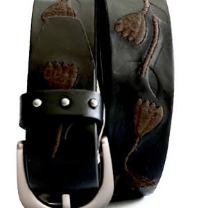 Fossil | חגורת ג׳נס מעוצבת פוסיל
