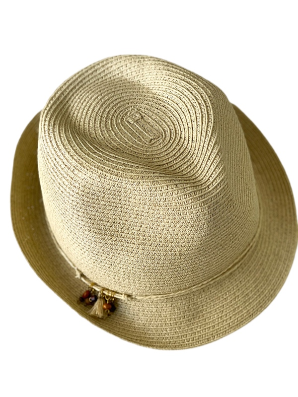 August Hat | כובע קש פדורה ניין ווסט