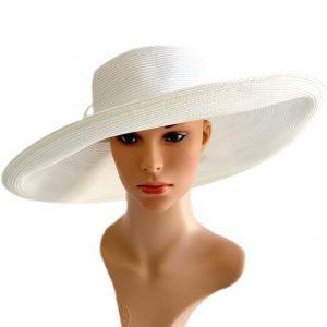 August Hat | כובע לבן פרח אוגוסט הט