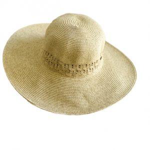 Nine West | כובע קש רחב שוליים פק ניין ווסט