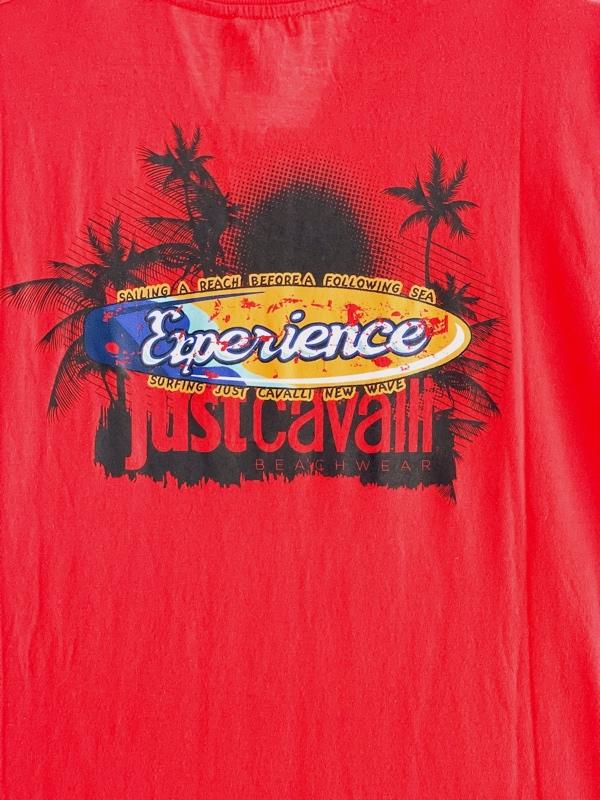 Just Cavalli | חולצה אדומה ג'אסט קאבלי