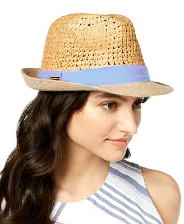Steve Madden   כובע קש דנים סטיב מאדן