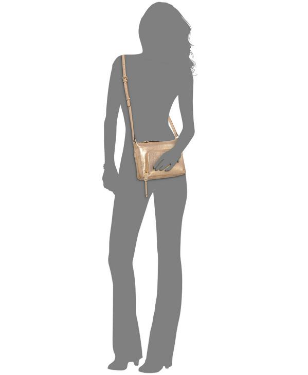 Calvin Klein   תיק צד בז׳ קלוין קליין