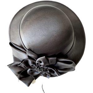 August Hat | כובע שחור מעוצב אוגוסט הט