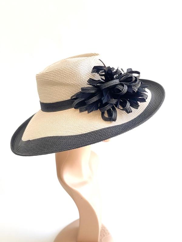 August Hat   כובע קש אקוומרין אוגוסט הט