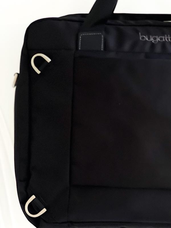 Bugatti   תיק מנהלים ותיק גב שחור בוגאטי