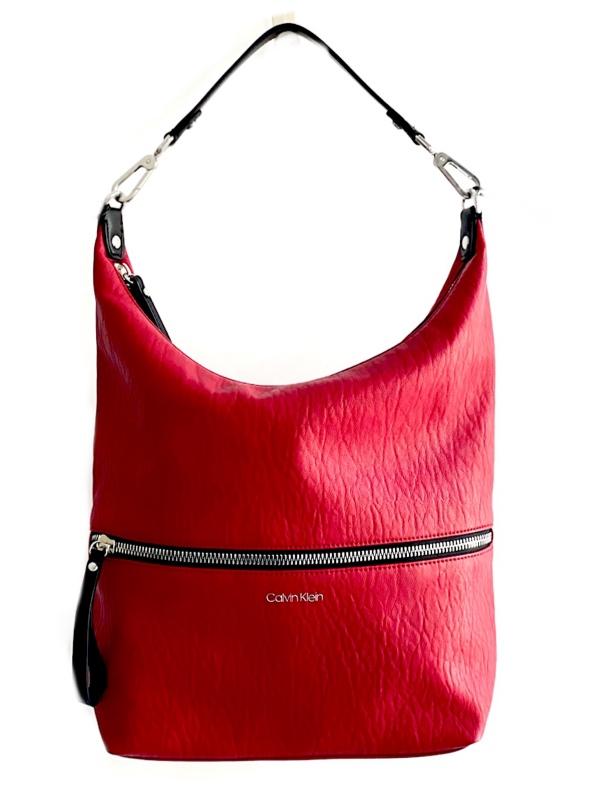 Calvin Klein   תיק כתף אדום קלוין קליין