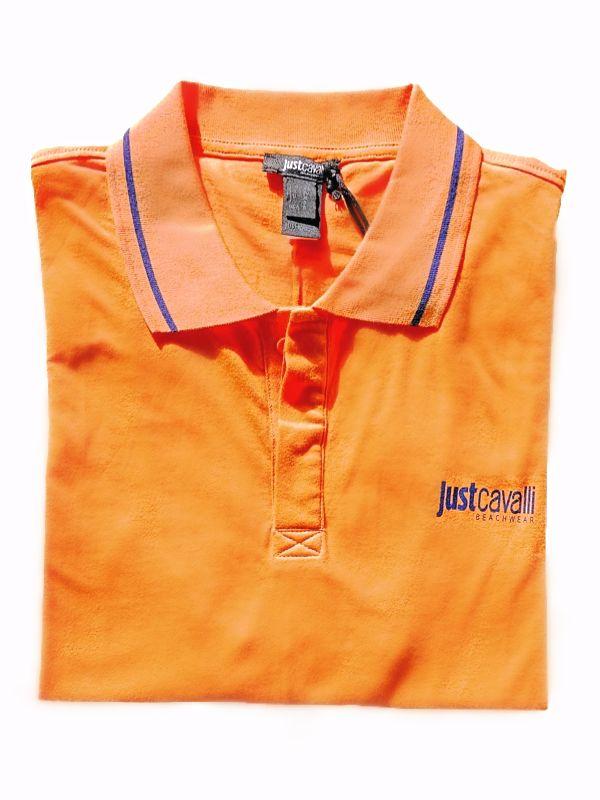 Just Cavalli | חולצה כתומה ג'אסט קאבלי