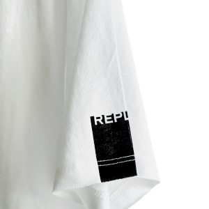 Replay | חולצת טי שירט לבנה ריפליי