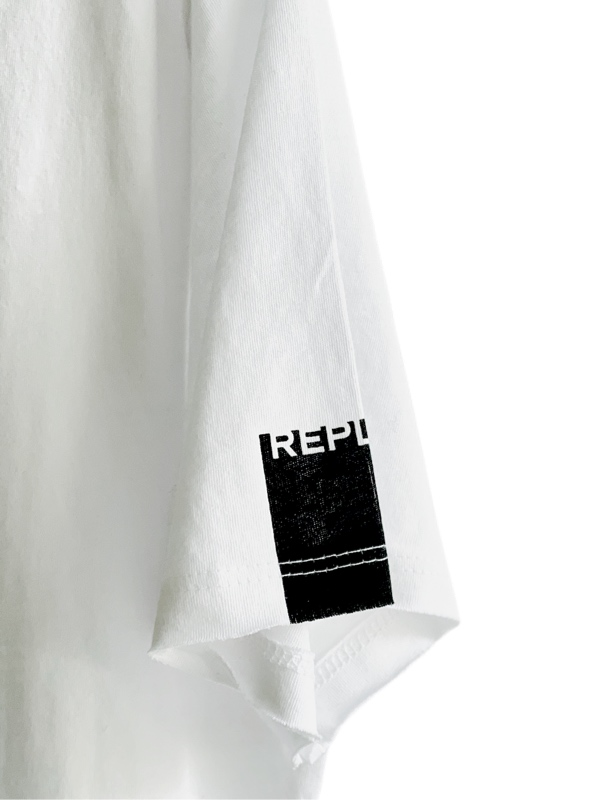 Replay   חולצת טי שירט לבנה ריפליי