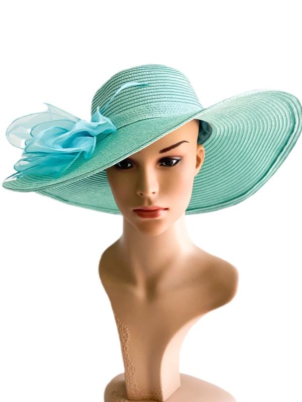 August Hat | כובע טורקיז אוגוסט הט