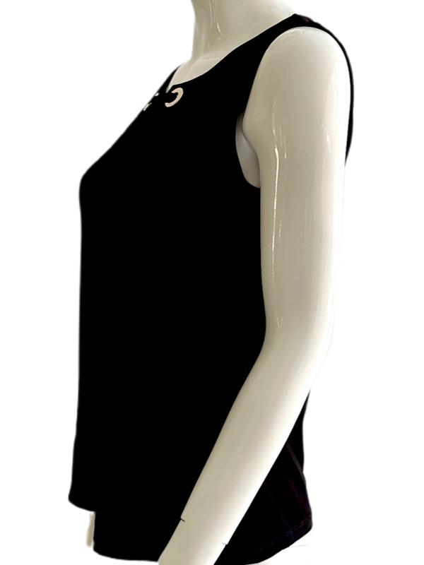 Tommy Hilfiger | חולצה שחורה מיוחדת טומי הילפיגר