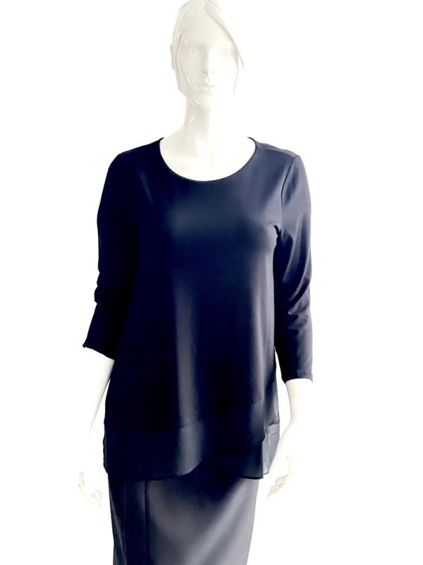 Michael Kors | חולצה שחורה אלגנטית מיקל קורס