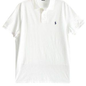 Ralph Lauren | חולצת פולו לבנה ראלף לורן