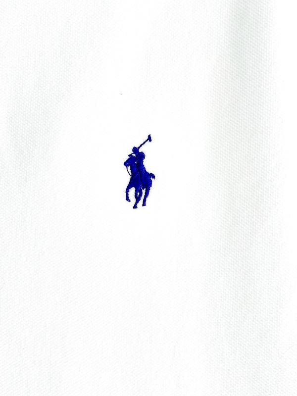Ralph Lauren   חולצת פולו לבנה ראלף לורן