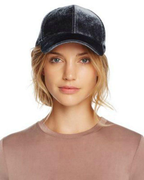 Echo | כובע קסקט קטיפה אפור אצ'ו