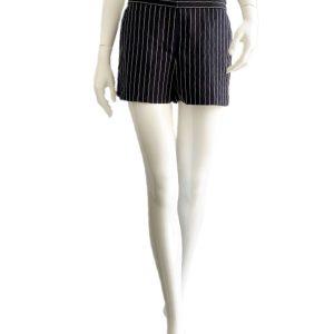 DKNY-Donna Karan | מכנס קצר אלגנט פסים דונה קארן